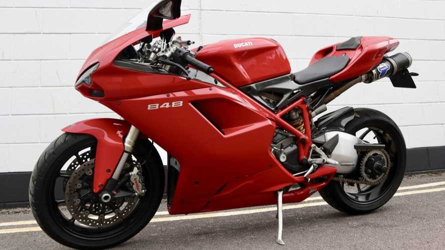 This Mint 2010 Ducati 848 Could Be Yours