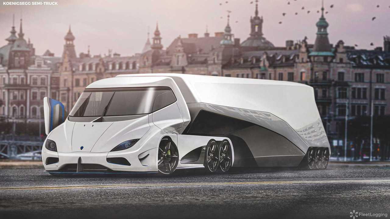 Koenigsegg Supertruck
