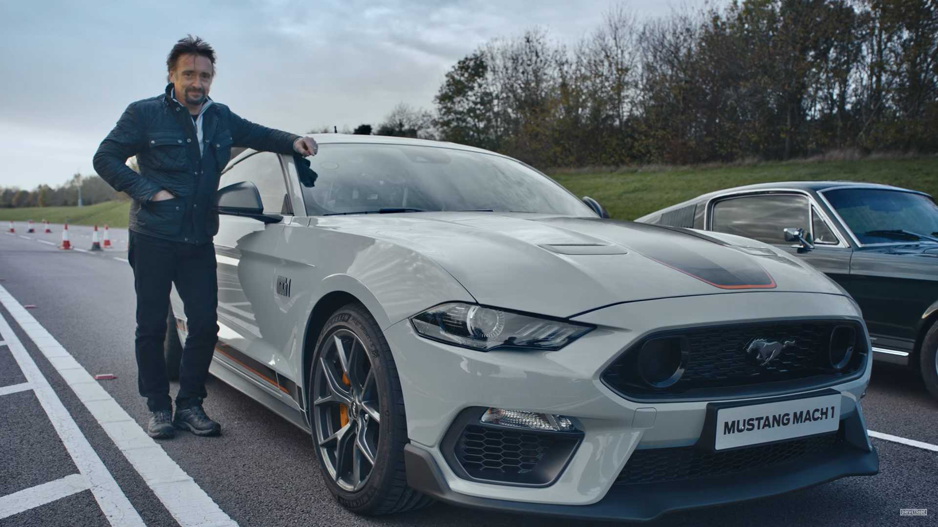 See Richard Hammond Test Drive The New Ford Mustang Mach 1