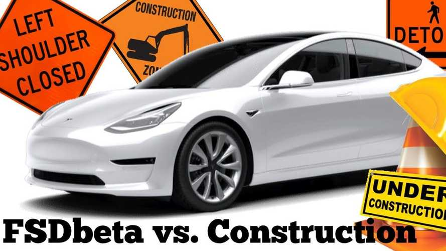 How Does Tesla's Full Self-Driving Beta Fare In Construction Zones?