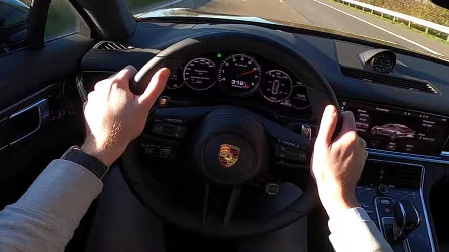 Porsche Panamera Turbo S Shows off its top speed by hitting 198 mph