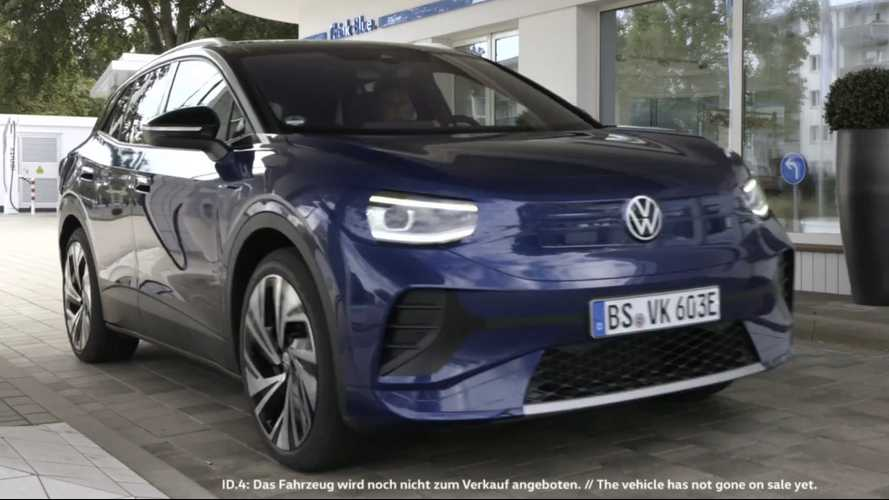 VW ID.4 teaser shows off cleverly camouflaged exterior