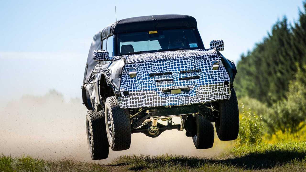 Ford Bronco Raptor Teaser Photo