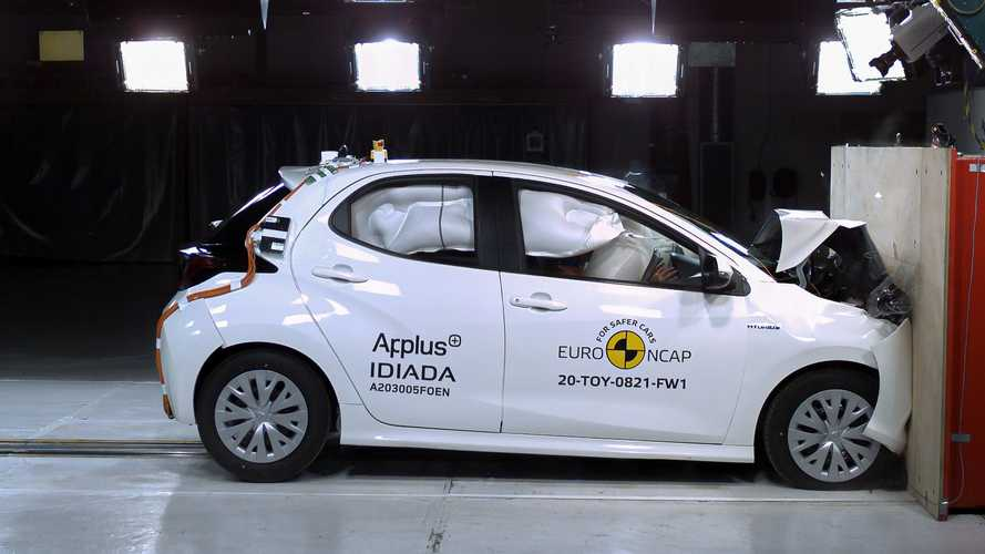 La nuova Toyota Yaris prende 5 stelle nei crash test EuroNCAP