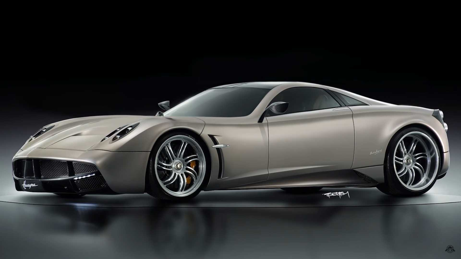 Pagani Huayra Would Look Great With The Engine In The Front