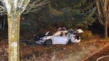 tesla model 3 huge crash