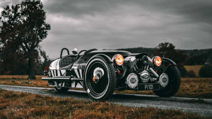 Limited Edition Morgan P101 Celebrates End Of 3 Wheeler Production