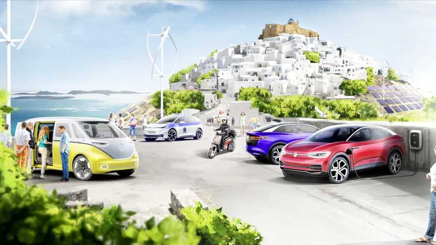 VW Group, Greece Agree Mediterranean Island Ready For EV Revolution
