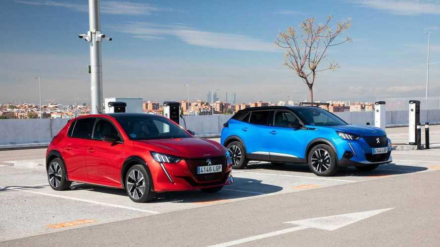 Peugeot e-208 y e-2008: electrificación total, en distintos formatos