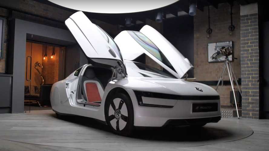 XL1 is possibly the rarest production Volkswagen in history