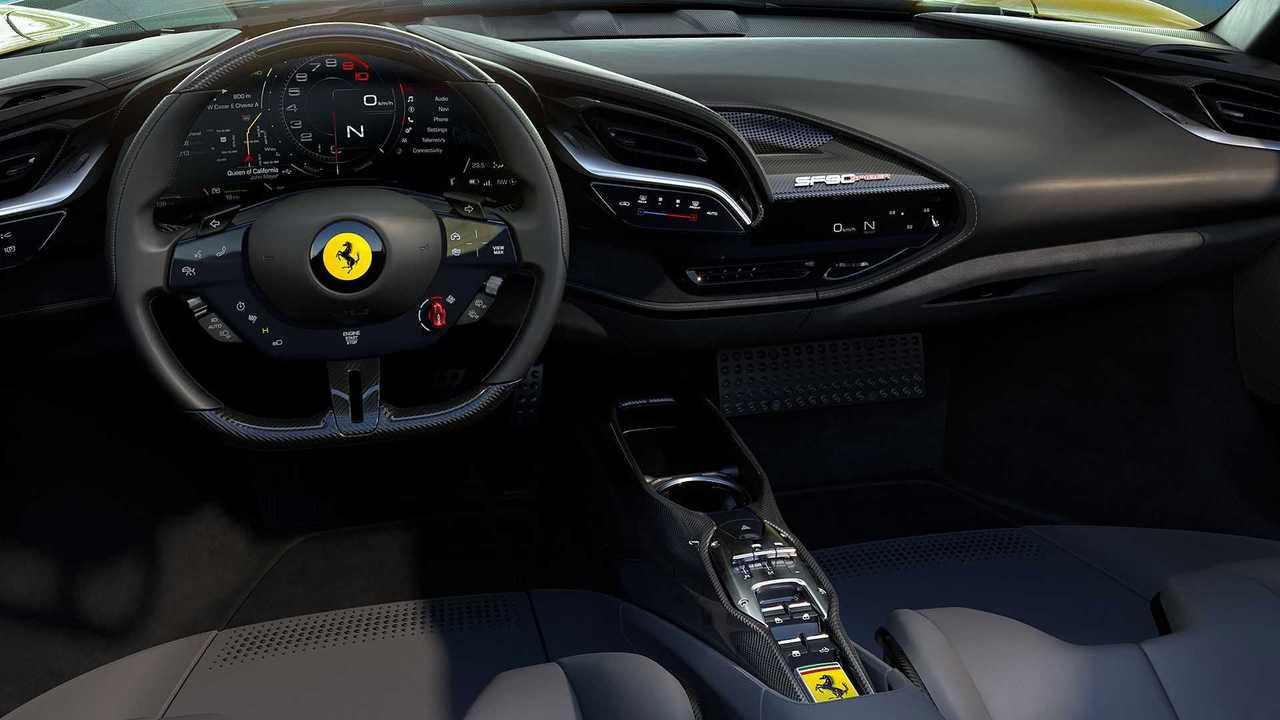 Ferrari Sf90 Spider Adds Unlimited Headroom To Plug In Hybrid Stradale