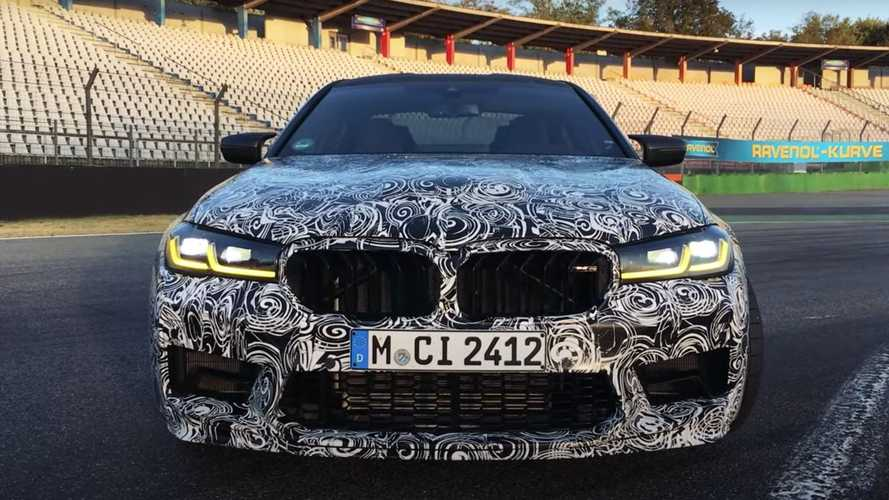 BMW M5 CS Has Nurburgring Map On The Headrests, Hints At New Record?