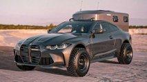 BMW M4 Overlander Renderings By BradBuilds