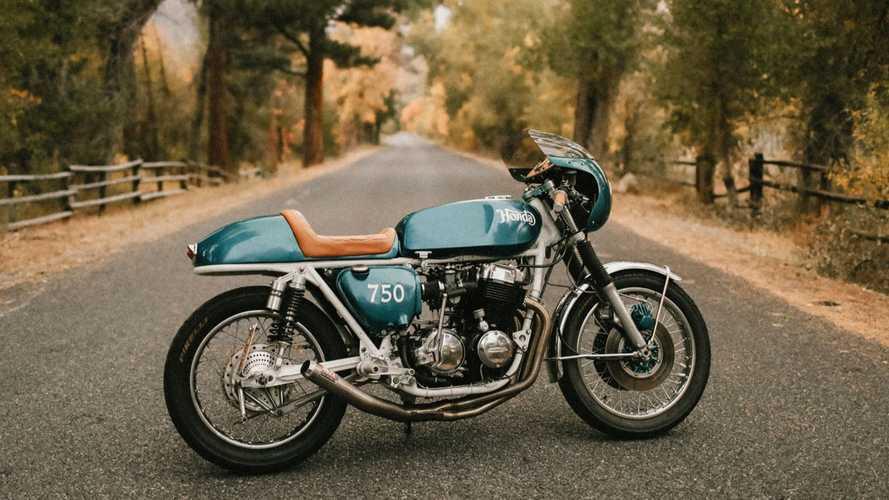 Timeless Beauty: Custom 1976 Honda CB750K