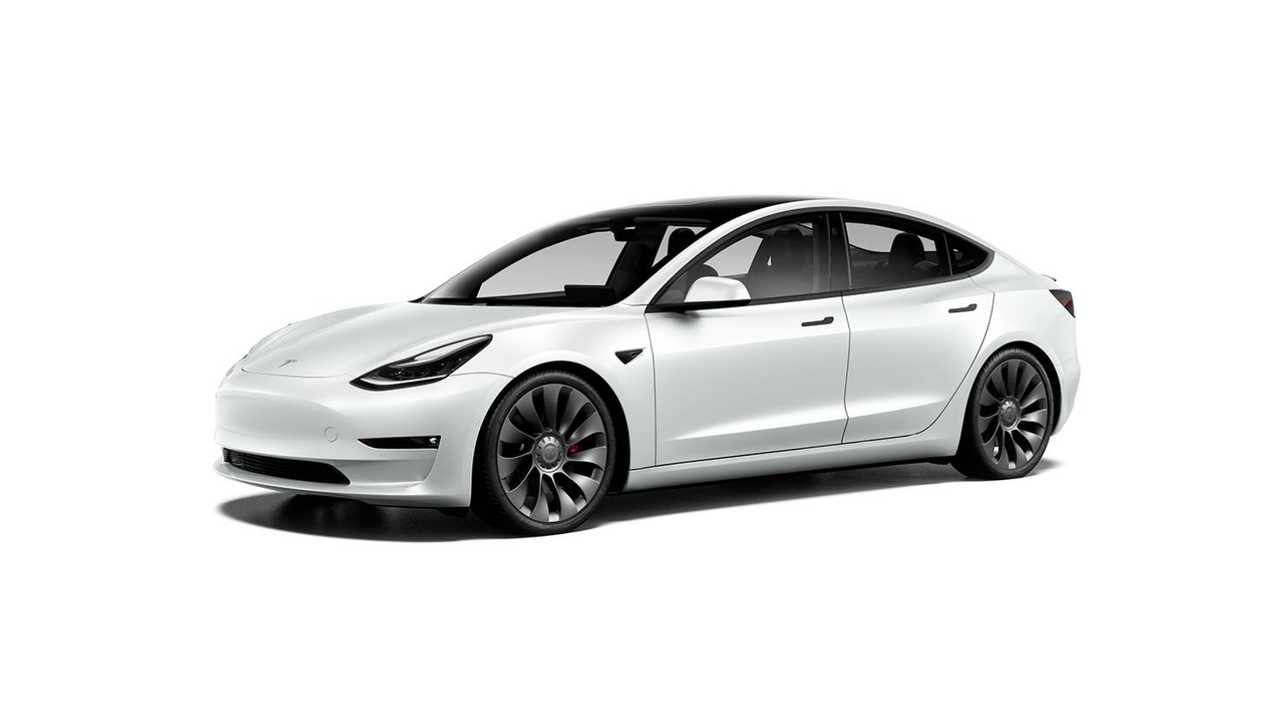 Tesla Model 3 Performance 20'' Überturbine Wheels (design studio U.S. - October 2020)