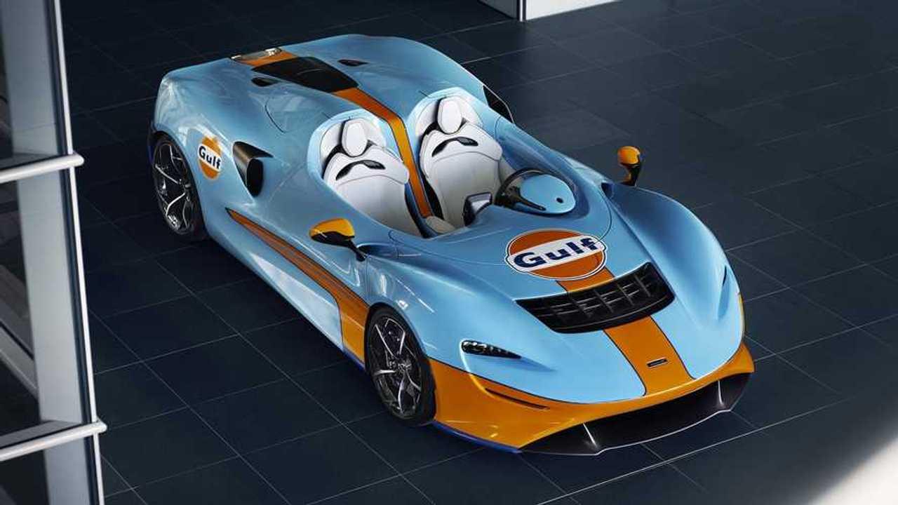 McLaren Elva con librea de Gulf