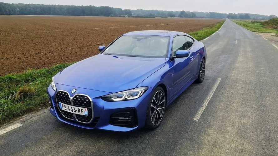 Essai BMW Série 4 Coupé (2021)