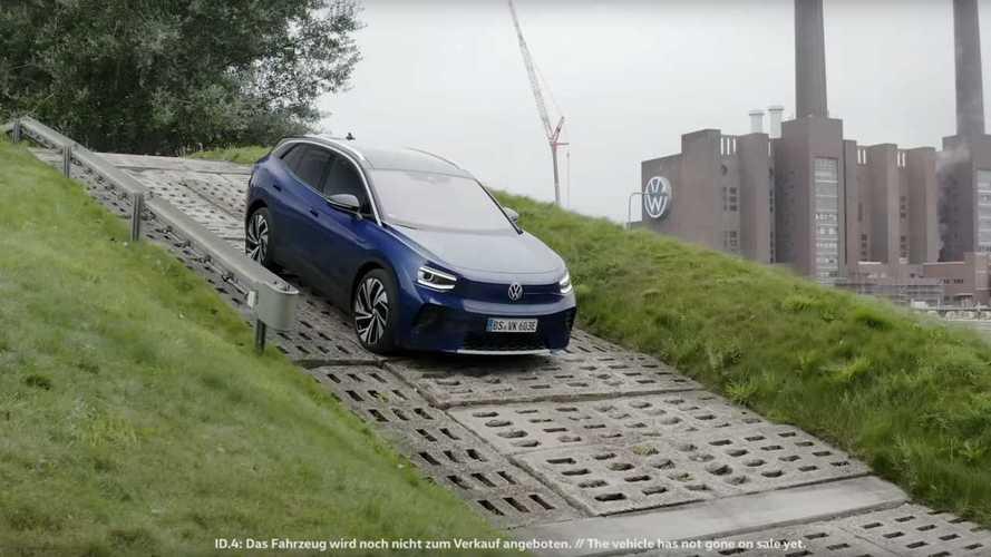 Volkswagen ID.4'ün şarj olurken kısa bir videosu yayınlandı
