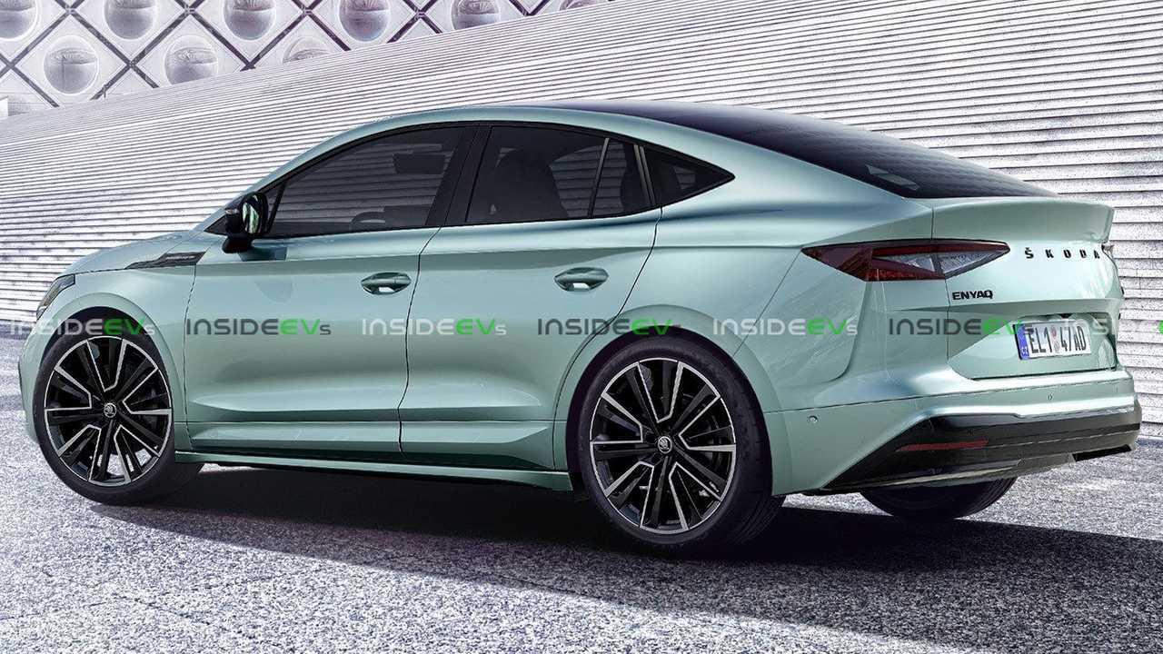 Better-Looking Skoda Enyaq GT Appears In Skillful Rendering