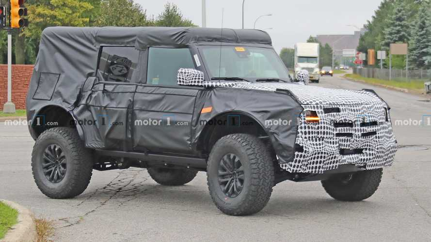 Ford Bronco Raptor Spied Looking Rugged On Raised Suspension