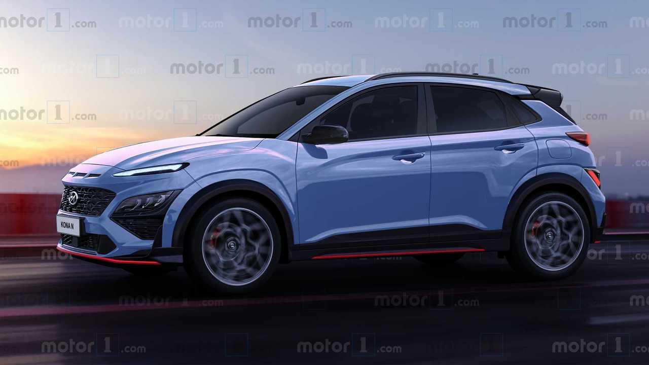 Hyundai Kona N Exclusive Rendering