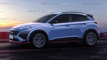 Hyundai Kona N Exclusive Rendering