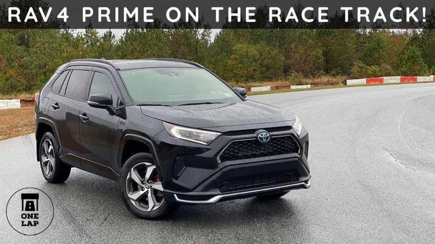 Toyota RAV4 Prime Surpasses Expectations In One Lap