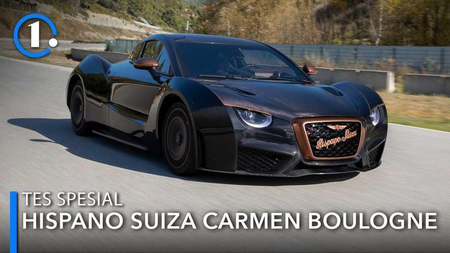 Tes Spesial Hispano Suiza Carmen Boulogne: Seni dalam Kecepatan