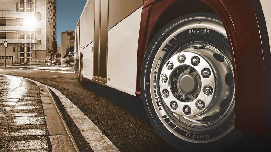 Prometeon, şehir içi otobüslere özel lastiğini tanıttı