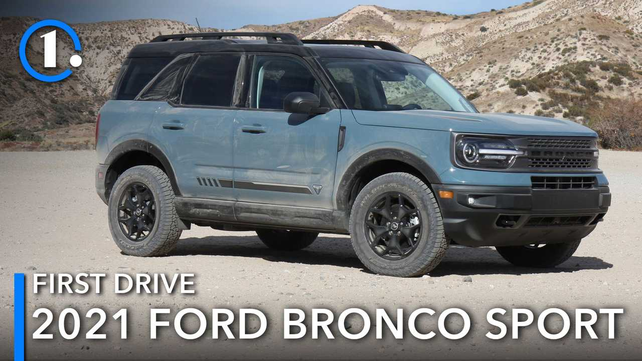 2021 Ford Bronco Sport First Drive