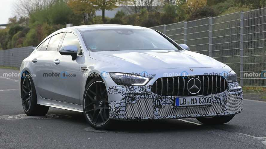 2022 Mercedes-AMG GT 4-Door Spied With Future Facelift