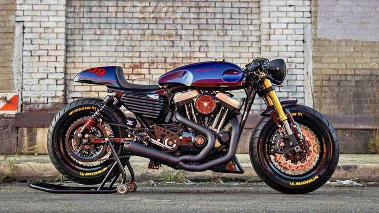 McKee Harley-Davidson Sportser Cafe Racer