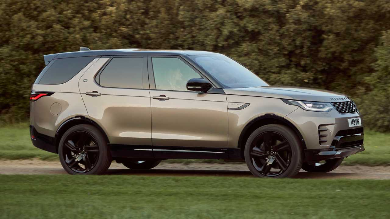 2021 Land Rover Discovery R-Dynamic Exterior Front Quarter