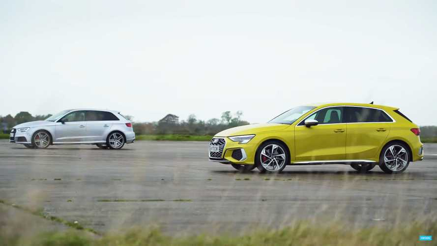 Audi S3 Fights Audi S3 In New Vs Old Drag Race Battle
