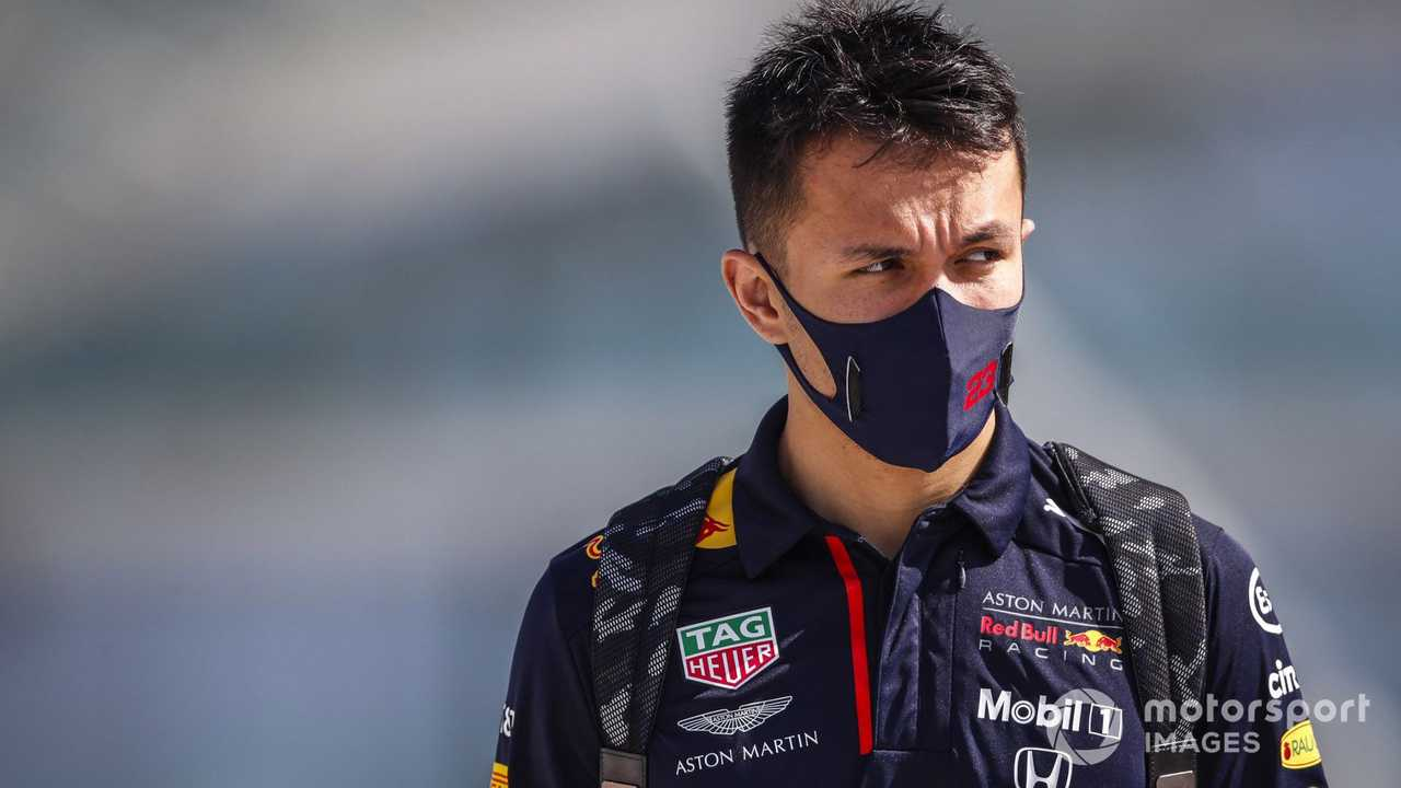 Alex Albon at Abu Dhabi GP 2020