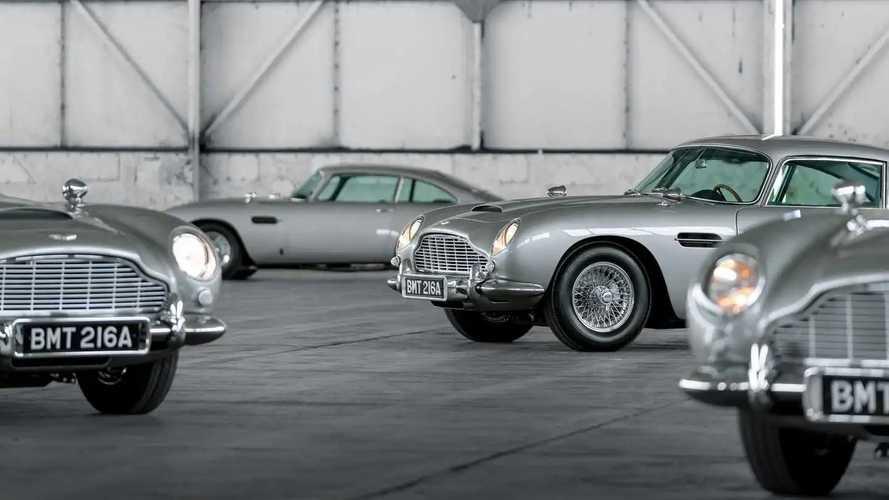 ZF recréé la boîte de vitesses historique de l'Aston Martin DB5