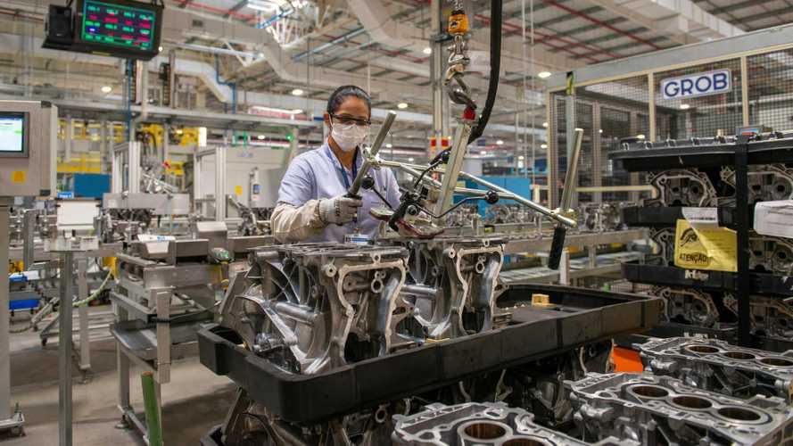 Chevrolet comemora 1 milhão de motores produzidos em Joinville (SC)