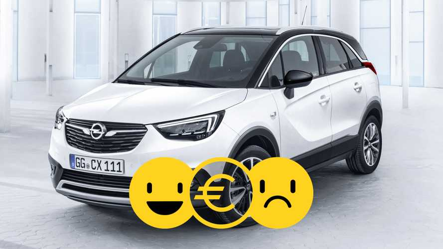 Promozione Opel Crossland X, perché conviene e perché no