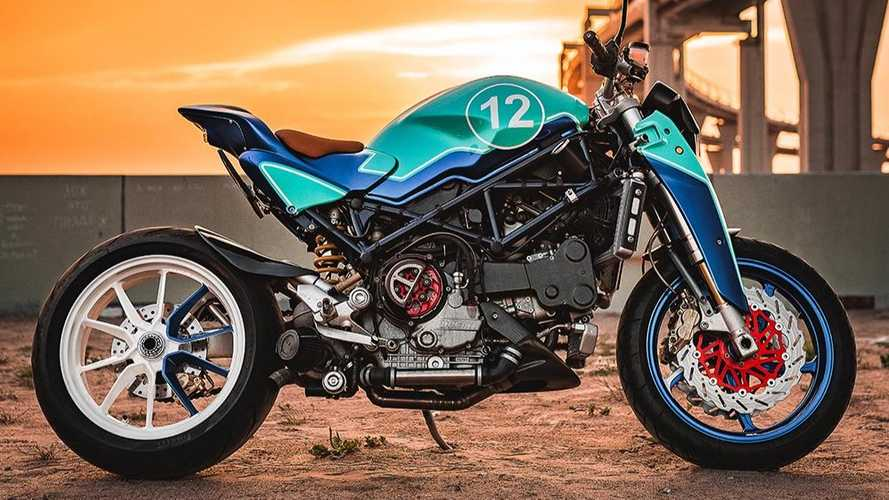 The Strontium: Turbocharged Ducati Monster S4R