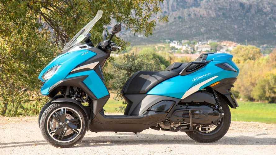Prueba Peugeot Metropolis 2020, el scooter de tres ruedas se actualiza