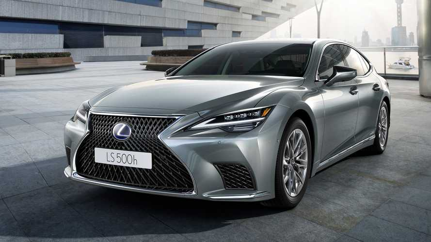 Lexus LS Facelift (2021)
