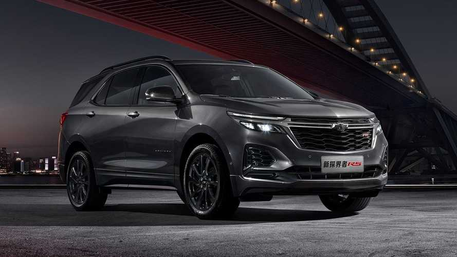 Novo Chevrolet Equinox RS 2021 é lançado com visual esportivo na China