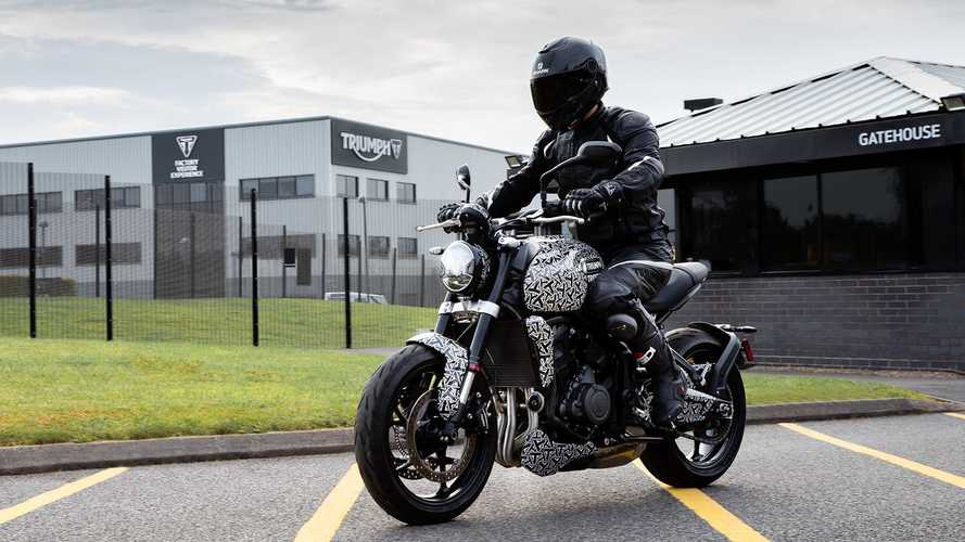 Will The Triumph Trident Be The First Of A New Range Of Bikes?