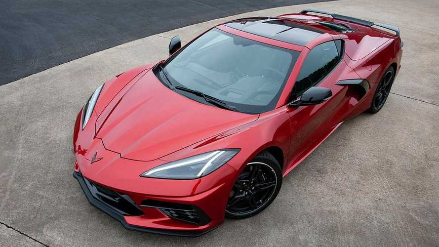2021 Chevy Corvette C8 Red Mist Paint