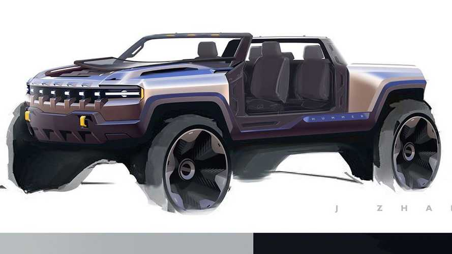 Check Out Early Hummer EV Sketches From GM Designers