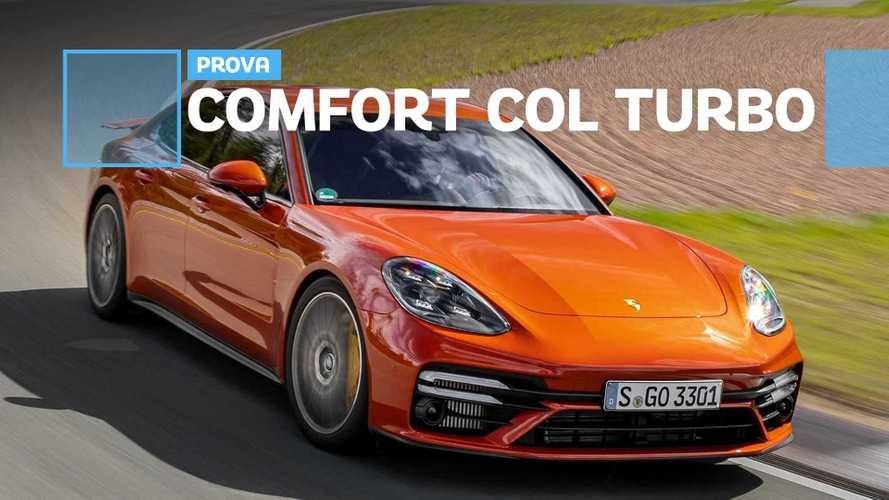Porsche Panamera Turbo S prova