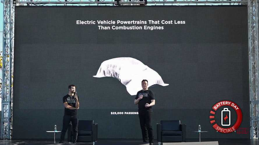 Una Tesla da 25.000 $ e le altre rivoluzioni presentate al Battery Day