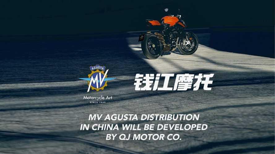MV Agusta e QJ Motor, accordo per cessione motore e distribuzione