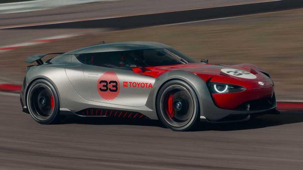 Toyota 2000GT Hommage Concept Rendering