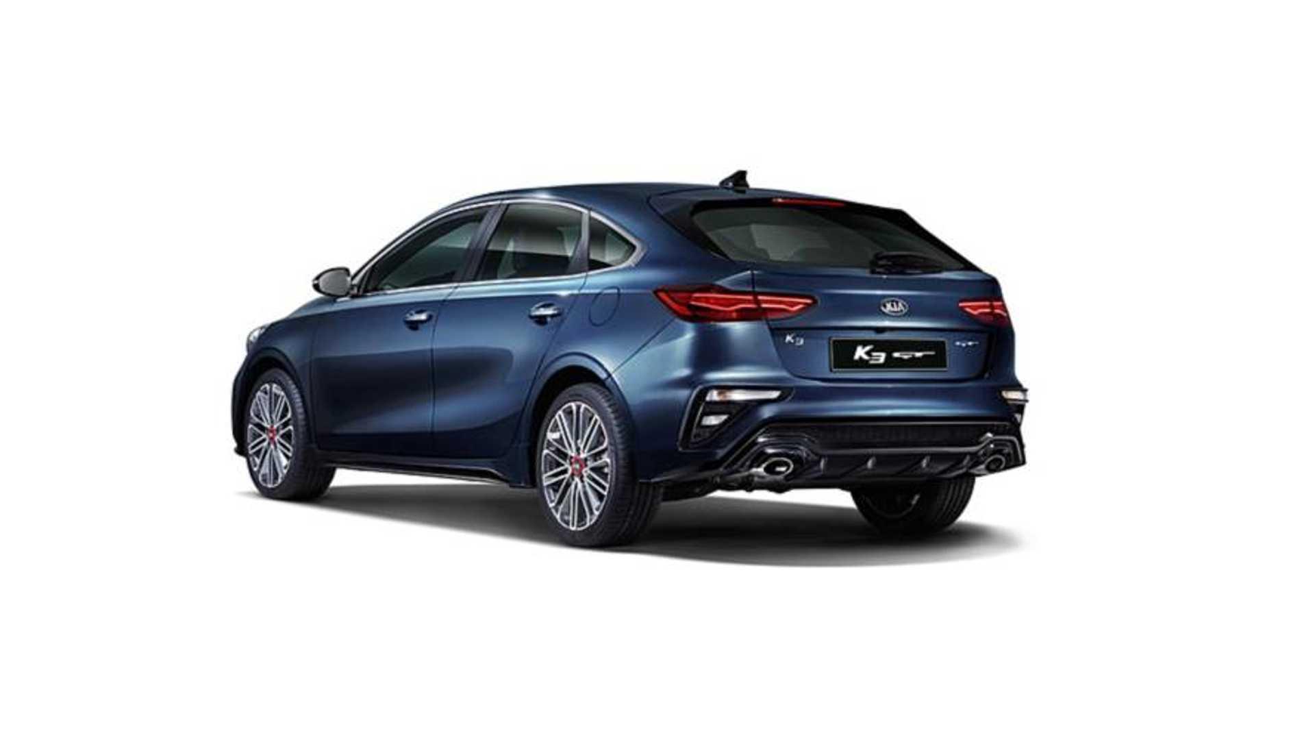 Kia Forte Hatchback >> Kia K3 Gt Guney Kore Nin Bmw 3 Serisi Gran Turismo Su Olacak